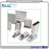 Champagn anodizado plata y bronce y Perfiles de Aluminio Perfiles con armazón de aluminio para Ventana y puerta y pared de cortina
