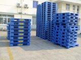 pálete plástica azul da plataforma 1200X1000 aberta