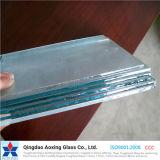 glace plate/incurvée de 1-19mm de flotteur pour la construction/guichet