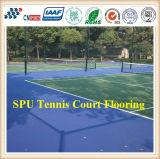 Bevloering van de Tennisbaan van Itf van het synthetische Rubber/Materiaal het de Van uitstekende kwaliteit van de Oppervlakte