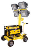 5kw Wacker Design 4*400W Light Tower