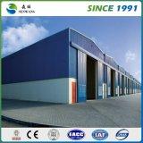 Almacén ligero de encargo de la casa prefabricada de China de la estructura de acero del bajo costo