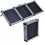 Painel Solar Dobrável 200W para uma lancha no Camping