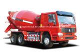 Sinotruk HOWOのブランド6X4のドライブの種類具体的なミキサーのトラック