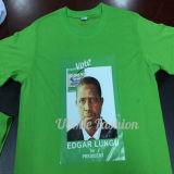 Un T-shirt bon marché de coutume de promotion d'élection du dollar