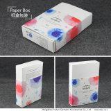Caisse d'emballage de papier estampée par coutume
