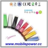 2013 kleurrijke Lipstick draagbare Power Bank/Charger voor Lady's Gift