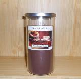 Vela perfumada del tarro de la varia aduana disponible de la talla