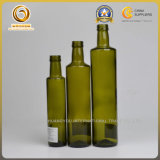 500ml円形の料理油の緑のガラスビン中国製(901)
