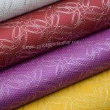 装飾のための人工的なPUの革、装飾的なのどの革