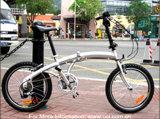 20인치 알루미늄 합금 접이식 자전거(AW-2016AL)