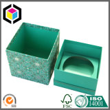 Impresión a todo color Caja de regalo hecho a mano de la vela del papel de la cartulina