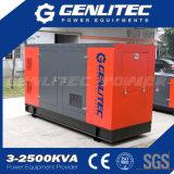 générateur insonorisé de diesel de Cummins de pièce jointe de 250kw 313kVA Denyo