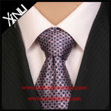 Perfect Knot 100% artesanal Jacquard Woven Slim Polyester Tie