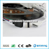 connecteur d'adaptateur de fiche 4-Pin mâle approprié à RVB 3528 lumière de bande de 5050 SMD DEL