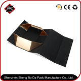 Rectángulo de regalo de papel de empaquetado plegable de la impresión en color para los productos electrónicos
