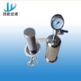 Macchina industriale filtrante di acqua del filtro a sacco dell'acciaio inossidabile del SUS 316