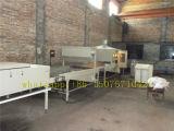 Máquina de fabricação de azulejos de telhado de metal revestido de pedra colorida