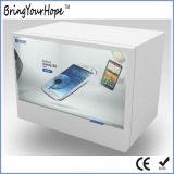 Showcase de Trasparent LCD da tela de 19 polegadas de largura (XH-DPF-190B)