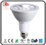 공장 직매 에너지 별 ETL에 의하여 증명서를 주는 Dimmable 15W 12W PAR30 LED 백색 반점