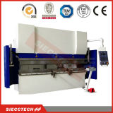 Folha de cobre CNC máquina de dobragem hidráulica, Folha de CNC dobradeira de Metal Wc67k-125T3200mm elevadas