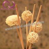 Rattan-Reeddiffuser- (zerstäuber)ausgangsaroma-Blume im keramischen Flaschen-REEDdiffuser- (zerstäuber)geschenk-Set