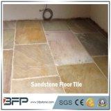 Mattonelle di pietra naturali dell'arenaria della Cina delle mattonelle di pavimento di alta qualità/pavimentare