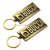 Hot Sell Custom Zinc Alloy Keychain com logotipo de carta