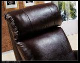 거실 가구 선전용 Recliner 의자 Recliner 수동 PU 가죽 의자