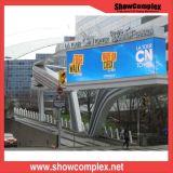P6 écran visuel extérieur polychrome de mur de la publicité DEL