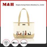 큰 수용량 Leather Handbags 동물성 디자이너 운반물 숙녀