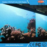 HD 풀 컬러 옥외 임대료 P10 LED 영상 벽 전시