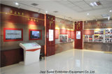 Contexte plat d'étalage de panneau de mur pour la cabine d'exposition de Protectionshowroom d'incendie