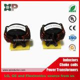 Indutor de alimentação de alta corrente do indutor de áudio com núcleo amorfo