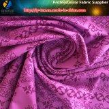 Tela do poliéster, tela de estiramento de 4 maneiras, posicionando a tela do vestido do Spandex da impressão (YH2026)