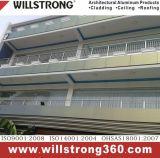 Zusammengesetzte Aluminiumbeschichtung des Panel-Pet/PVDF für Fassaden