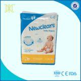Couche-culotte remplaçable de bébé d'absorption de film respirable élevé de Clothlike