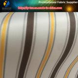 衣服(S59.60)のための現金商品のポリエステル縞の織布