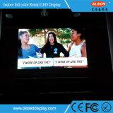 P3.91 крытое видео-дисплей Rental СИД с легковесом