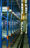 Промышленная система вешалки хранения автоматического пакгауза