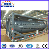 20FT ISO de stockage de liquides chimiques de l'acier acide Hydrofludric HCI 32 % conteneur de réservoir