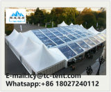 200/300/500/1000人のためのアルミニウムGlass/PVC最も高いピークの組合せの結婚披露宴の玄関ひさしのテント