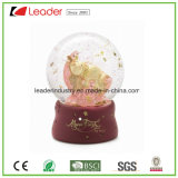 Globo de la nieve de los regalos de Polyresin con modificado para requisitos particulares para la decoración casera y los regalos promocionales