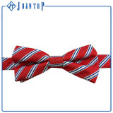 Cravate en polyester 100% poli en rayures sur mesure