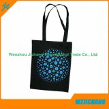 La promoción de algodón 100% Natural reutilizable Textil bolsas portátiles