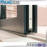 Нутряная дверь с застеклять закаленный двойником для балкона