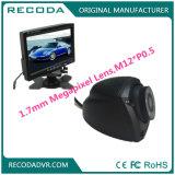1.7mm 렌즈를 가진 버스 트럭 택시 화물 자동차 후방 측면도 사진기 IP67를 위한 Recoda 1.3MP 경찰차 사진기
