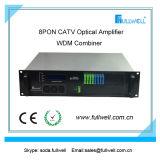 Pon CATV EDFA. Poder más elevado EDFA con la fuente de alimentación 2