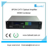 Pon CATV EDFA. 2 전력 공급을%s 가진 고성능 EDFA