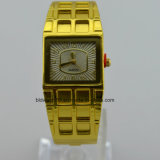 Armband-Armbanduhr-Quarz-Goldform-Armband-Dame-Uhren